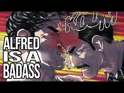 Alfred is a BADASS Mother-BUTLER! | Desk of DEATH BATTLE!