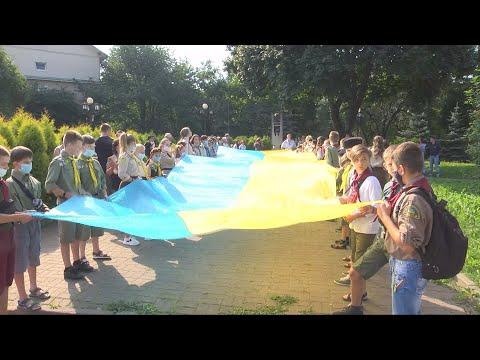 У Коломиї розгорнули Прапор Єдності