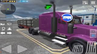 usa truck driver seattle hills hd gameplay video