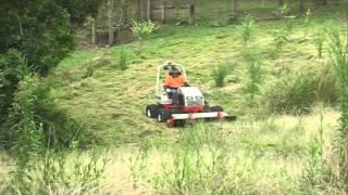 Ventrac Tractor Slashing in Australia Updated
