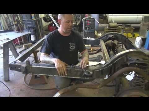 How to Frame Reinforcement on 1964 Impala Lowrider Hydraulics