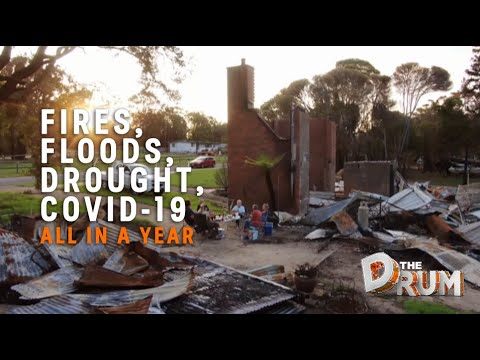 Drought, fires, floods and COVID-19: it's been a tough year for the NSW town of Cobargo   The Drum