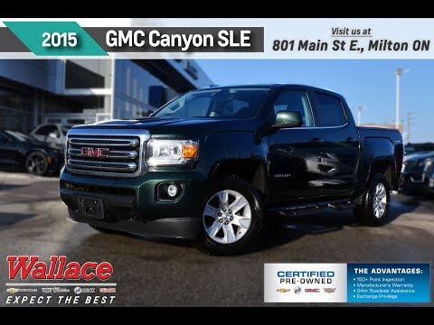 2015-gmc-canyon-stock-#pr4638---wallace-chevrolet-certified-pre-owned