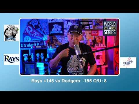 Los Angeles Dodgers vs Tampa Bay Rays Free Pick 10/25/20 World Series Game 5 Pick & Prediction MLB