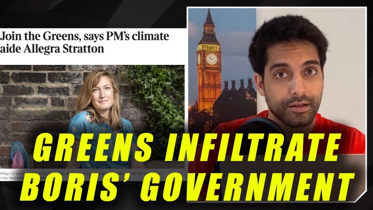 EXPOSED: Green Party Agenda Runs Boris' Government