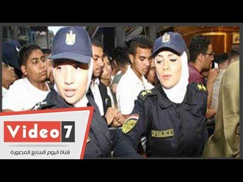 تواجد مكثف للشرطة النسائية بوسط البلد لمكافحة التحرش  - 23:21-2018 / 6 / 17