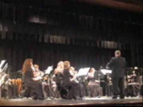 River Valley High School Winter Holiday Concert. Three Oaks, Michigan wmv