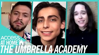 Ellen Page Shares 'Umbrella Academy' Set Secrets