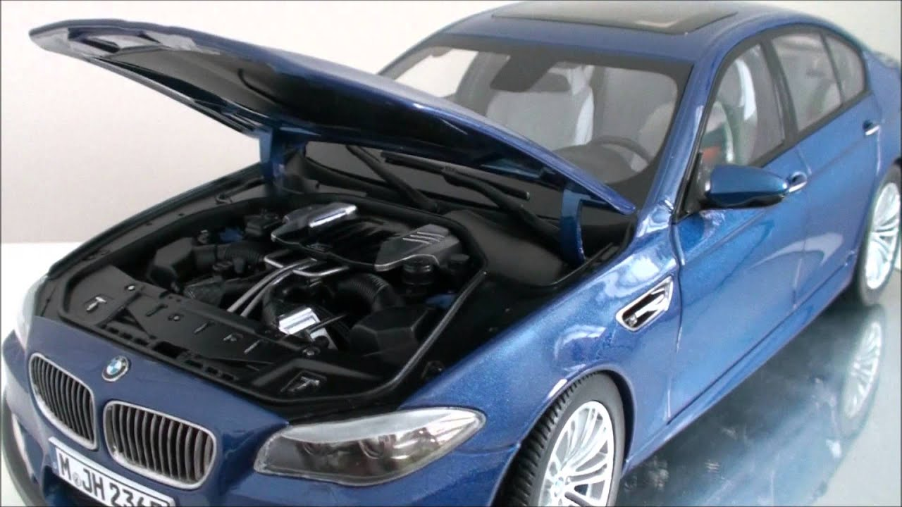 1 18 Paragon 2012 F10 Bmw M5 Diecast Model Review Youtube