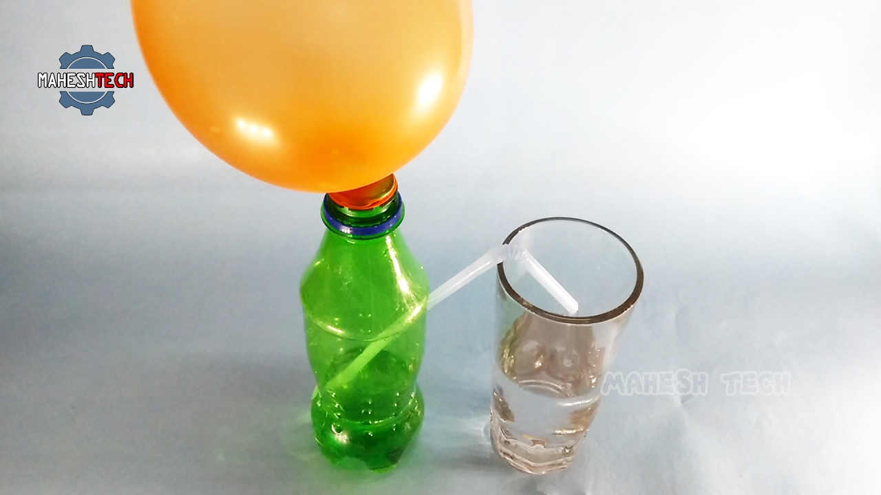 Air Pressure On Water - Physics Science Experiments - YouTube