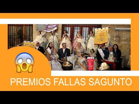 ENTREGA PREMIOS FALLAS SAGUNTO 2018