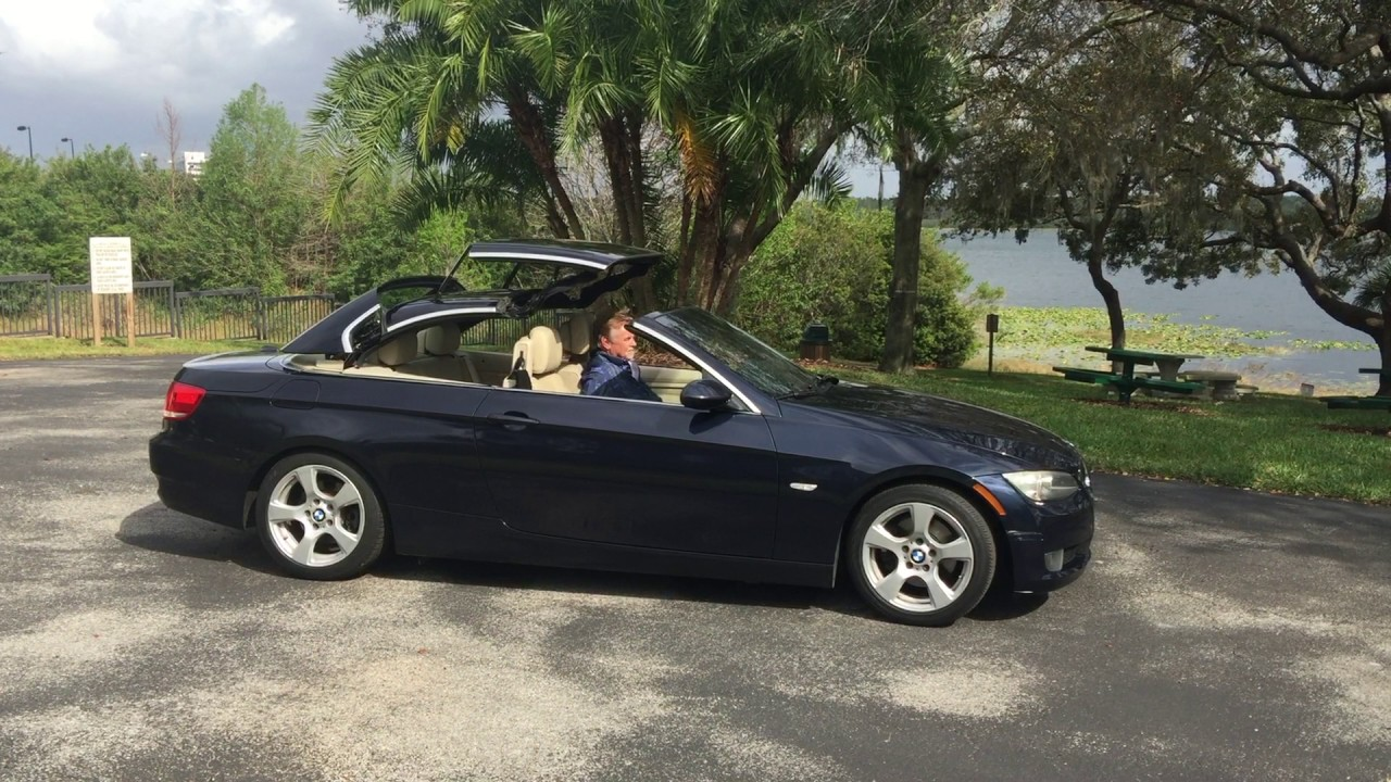 BMW I Hard Top Convertible YouTube - 2009 bmw 335i convertible