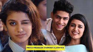 'Wink' girl Priya Prakash Varrier opens up about her relationship with Roshan Abdul