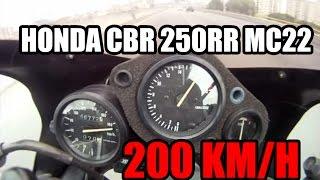 Honda CBR 250RR - TOP SPEED 200 km/h