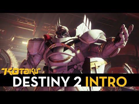 We Played Through The Intro Of Destiny 2's Beta