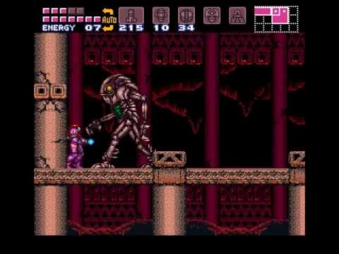 Super Metroid 100%Run(Longplay)