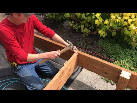 Building Footings and Frame for a Composite Deck –Trex Transcend Decking