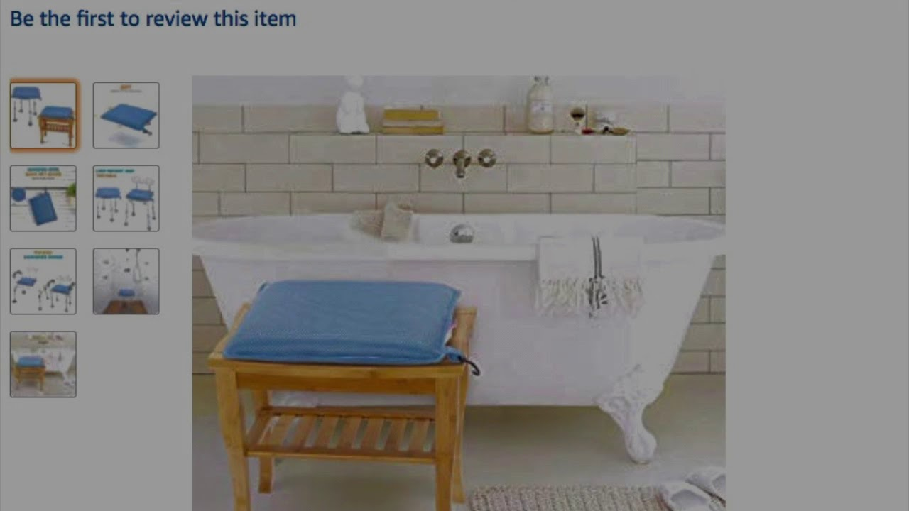 Review Oasisspace Shower Stool Cushion