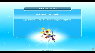 Sims Freeplay The Road To Fame Quest