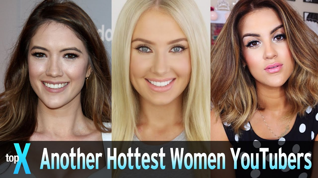 Another Top 10 Hottest Women Youtubers - Topx - Youtube-1455
