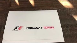 FORMULA 1 US Grand Prix 2017 Ticket Arrival
