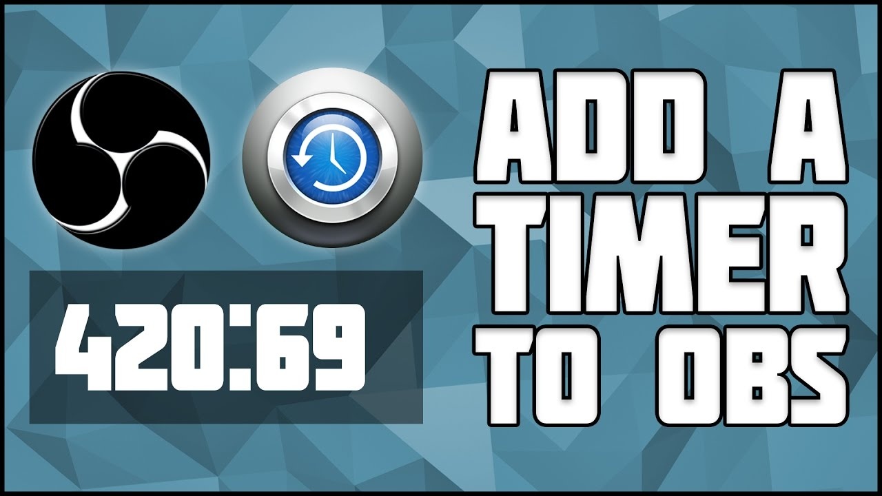 How to add a Countdown/Count-up Timer to OBS! Snaz Setup Tutorial! OBS  Stream Timer! OBS Timer!