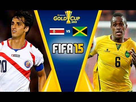 Fifa 15 Costa Rica Vs Jamaica Copa De Oro 2017