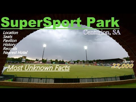SuperSport Park Stadium, Centurion,SA II All You Need To Know Before You Go...II