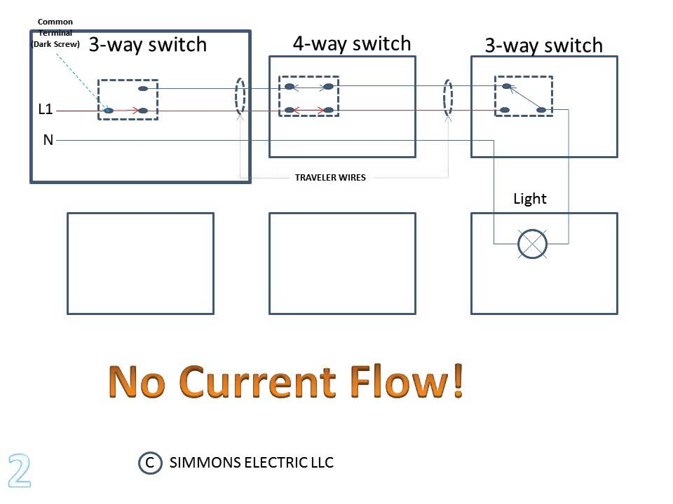 3 WAY and 4 WAY SWITCH DEMO WMV YouTube