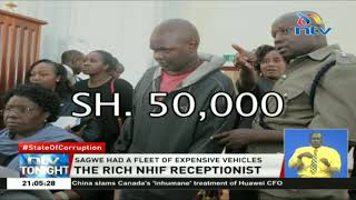 NHIF receptionist Fredrick Sagwe's overnight riches