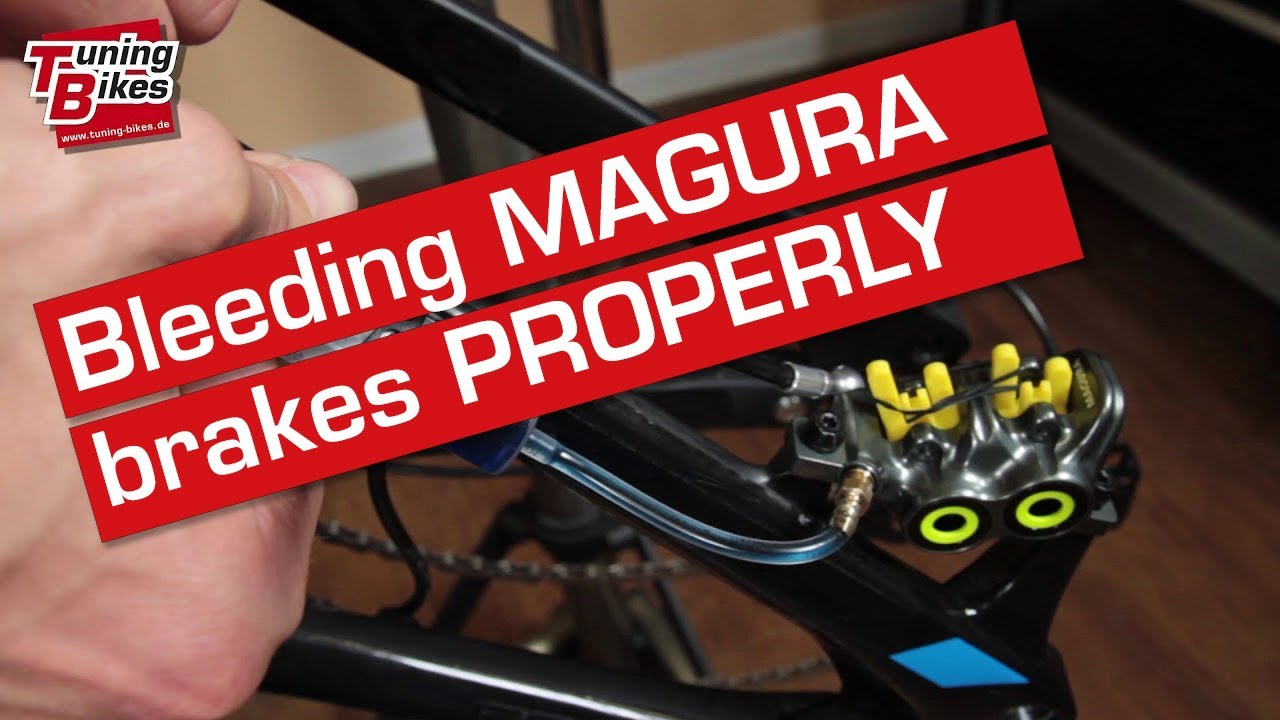 Instructions For Bleeding Magura Mt5 Mt7 Disc Brakes Tutorial