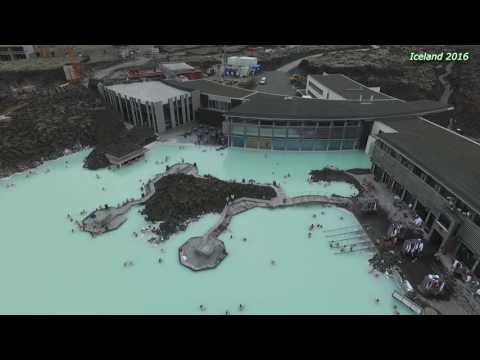 Iceland - Grindavik - geothermal spa Blue Lagoon, Drone - Phantom 3 Pro, 2016