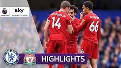 Freistoß-Hammer und Kanté-Solo | FC Chelsea - FC Liverpool 1:2 | Highlights - Premier League 19/20