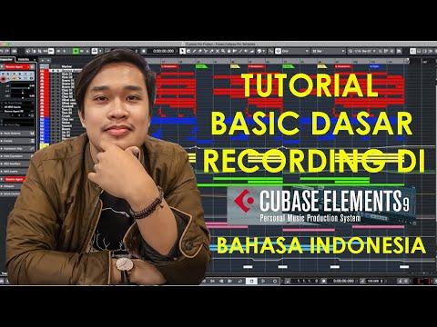 Tutorial Basic Dasar Recording di Cubase berbahasa indonesia | Cubase LE Element 9.5 free download