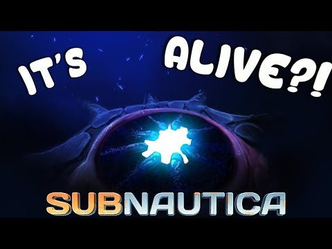 Subnautica - IT'S ACTUALLY ALIVE!? - The Kharaa's HUGE Storyline Update & LINK - Full Release 1.0