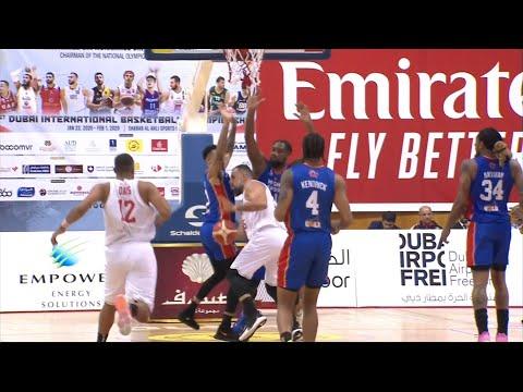Highlights: Mighty Sports vs UAE   31st Dubai International Basketball Championship