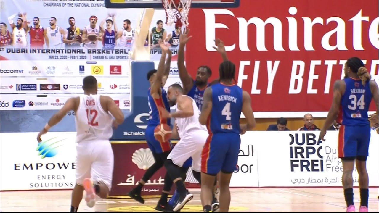 Highlights: Mighty Sports vs UAE | 31st Dubai International Basketball Championship