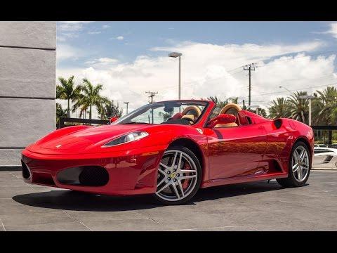 Ferrari F430 Spider Start Up, Exhaust sound & Revs Interior Exterior Drive