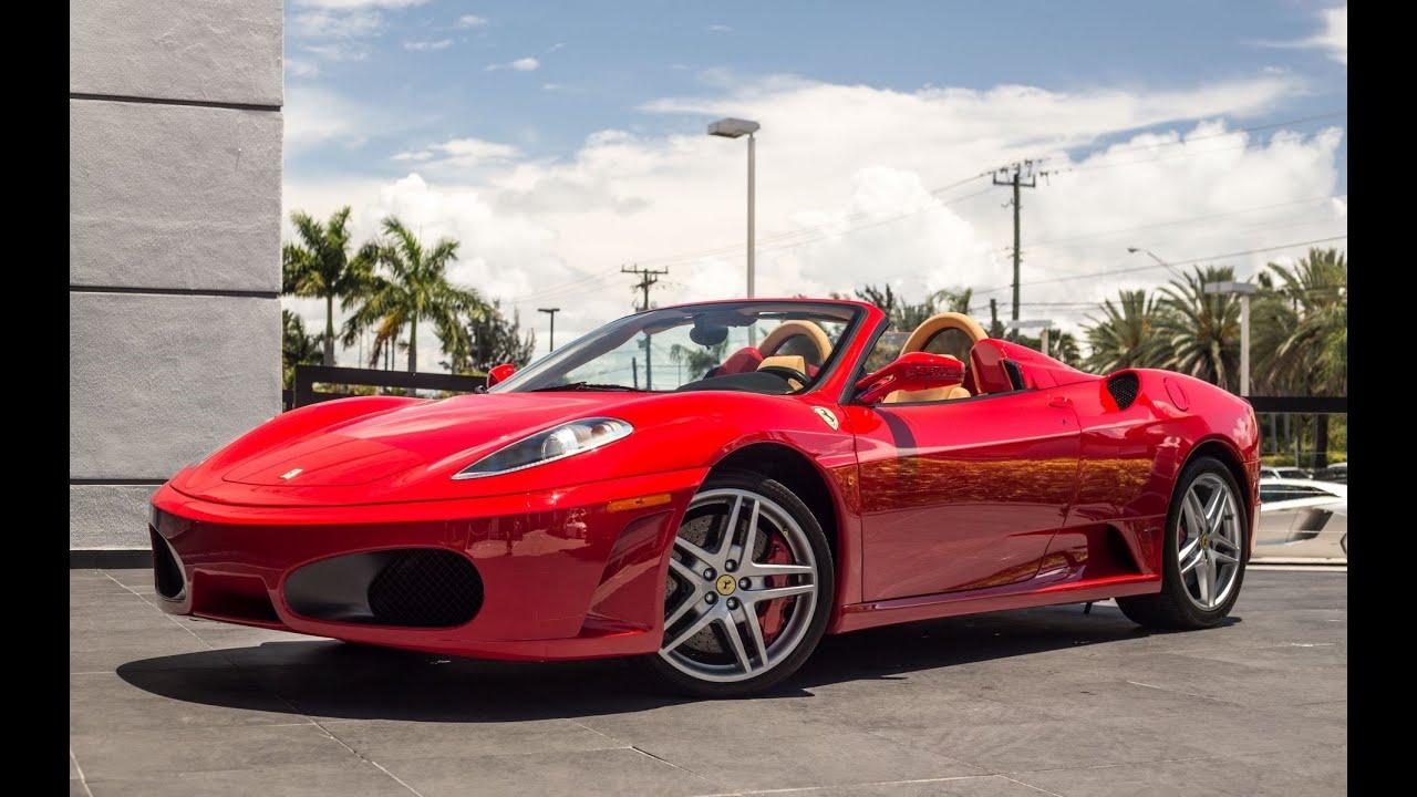 Ferrari F430 Spider Start Up Exhaust Sound Revs Interior Exterior Drive