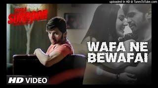 Wafa Ne Bewafai KARAOKE | TERAA SURROOR | Himesh Reshammiya, Farah Karimaee | T-Series