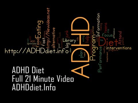 ADHD Diet: ADHD Eating Program from The ADHD Information Library at ADHDdiet.info