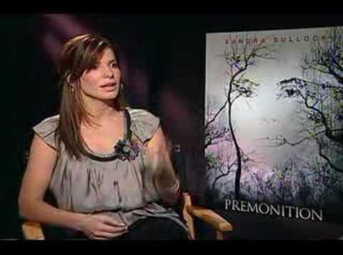 Sandra Bullock interview for Premonition