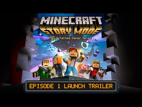 Minecraft : Story Mode - Episode 1 Launch Trailer