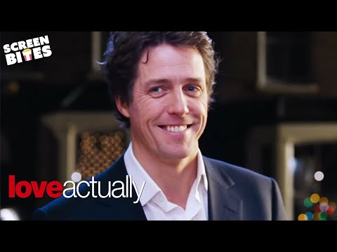 Love Actually  The Carol Singing Prime Minister  Hugh Grant