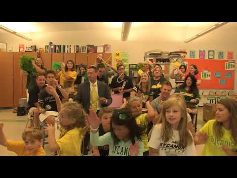 "Sycamore Schools Opening Day 2017 ""Can't Stop The Feeling"""
