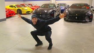 Nunca habia visto tantos Ferraris Juntos