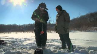 ice fishing for bluegill cookin gone wild field to table s2 e2   indiana dnr