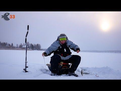 Зимняя рыбалка без ночевки. Окуни на спортивные снасти + подводная съемка