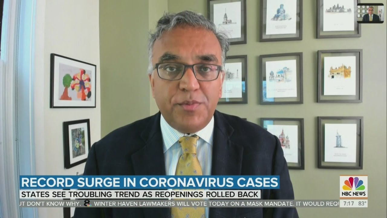 Florida breaks record for new coronavirus cases as surge of ...