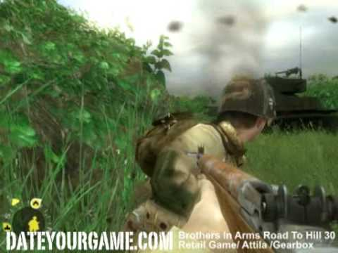 Brothers in Arms Road to Hill 30 Walkthrough Dead Man Corner |